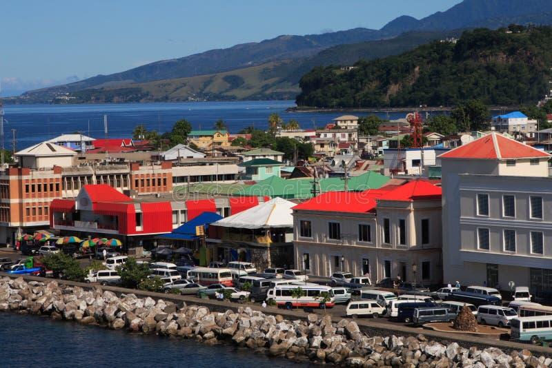 Caribbean City stock photography