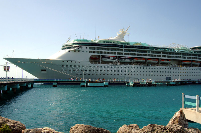 Download Caribbean Cruise Ship Stock Image - Image: 2743961