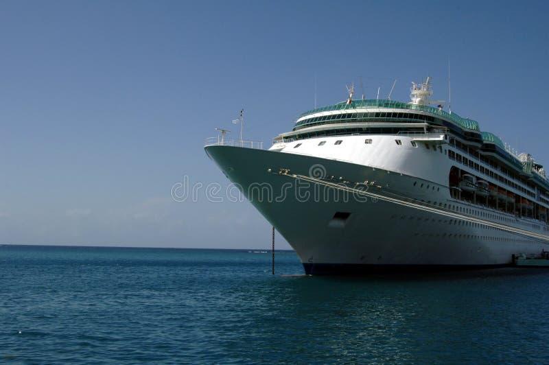 Caribbean Cruise ship stock photo