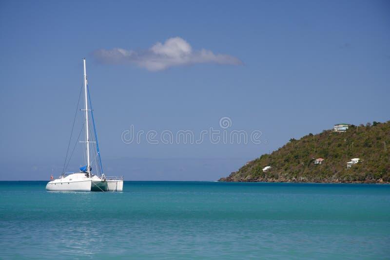 Caribbean Cruising royalty free stock image