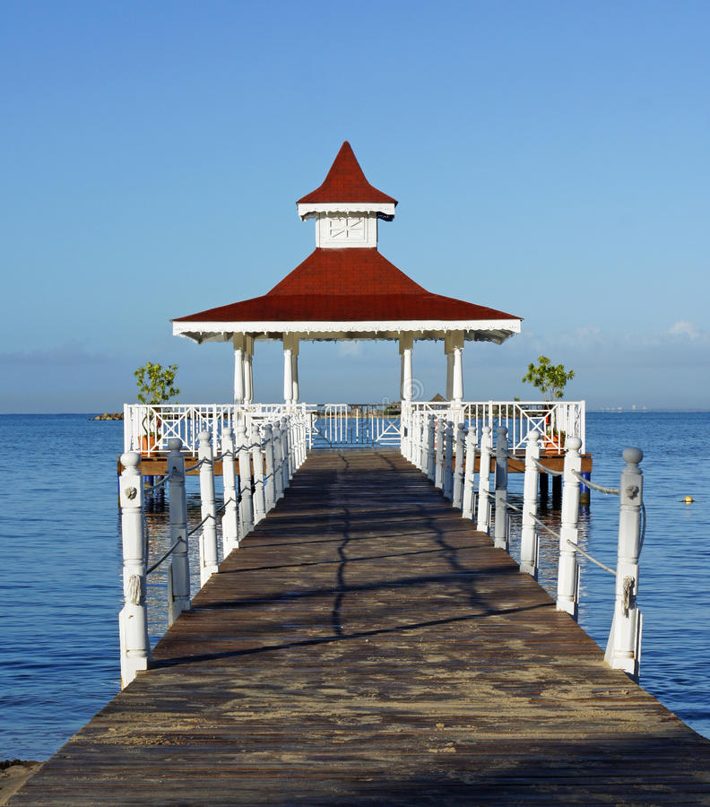 Download Caribbean Gazebo Stock Photos - Image: 22901143