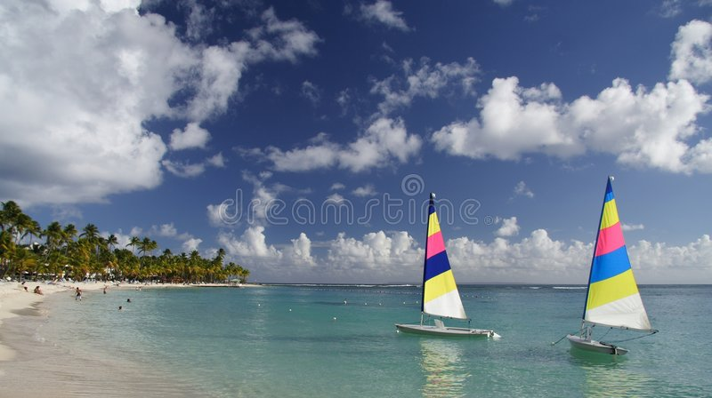 Caribbean Ghostships royalty free stock images