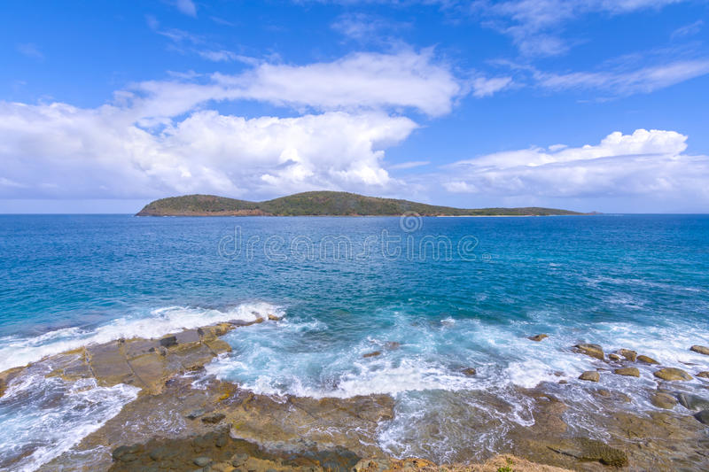 Caribbean island royalty free stock images
