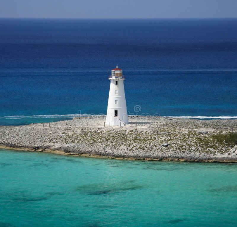 Download Caribbean Lighthouse stock photo. Image of ocean, shore - 1995500