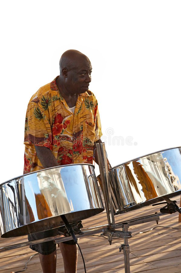 Free Caribbean Musician & Steel Drums Stock Images - 1168704