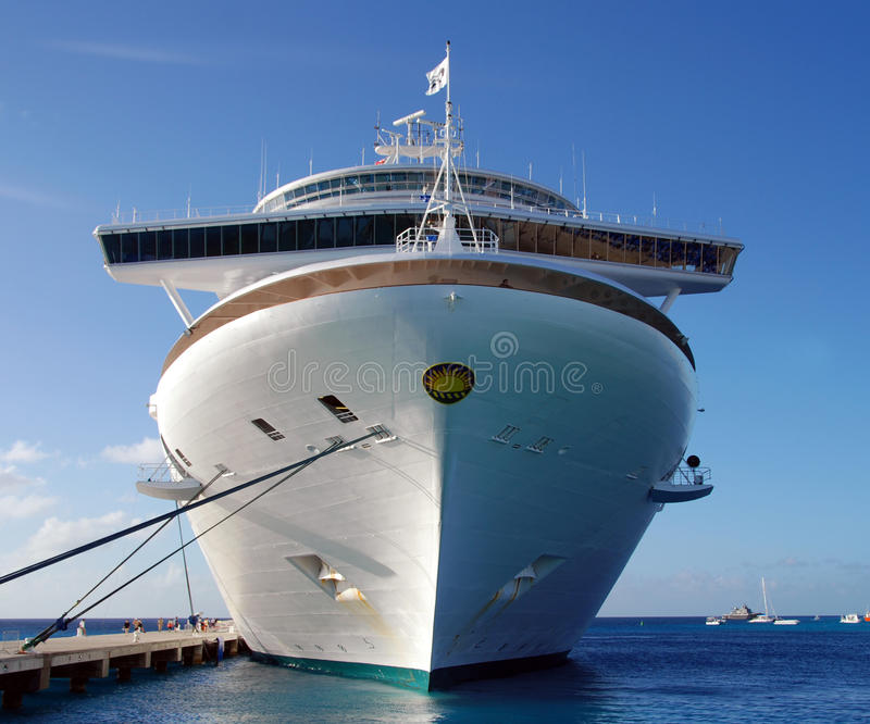 Caribbean Princess cruise ship stock image