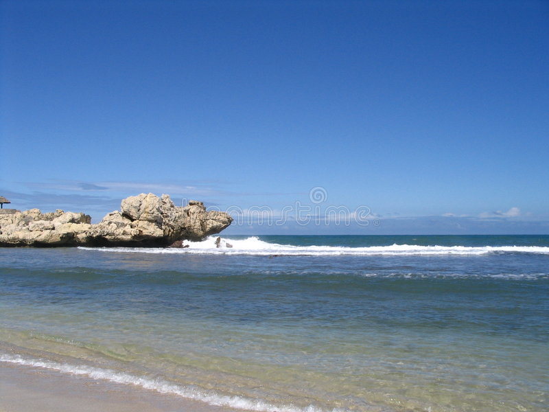 Caribbean seaside royalty free stock photo