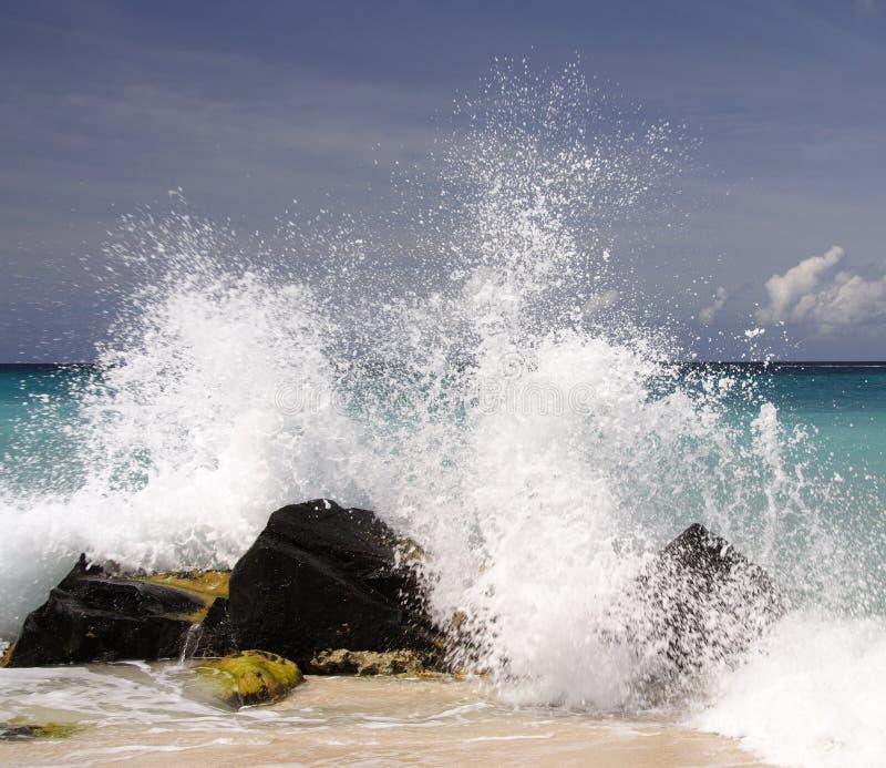 Caribbean Splash Stock Photo