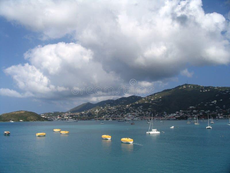 Caribbean, st, thomas royalty free stock photos