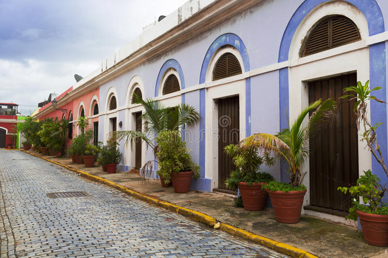 Download Caribbean Street Stock Photo Image Of Rico Residence