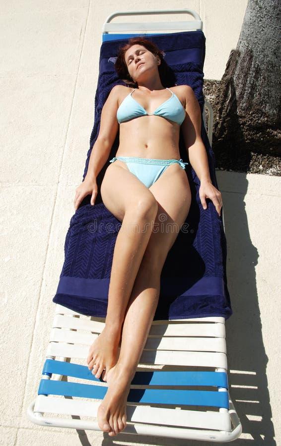 Download Caribbean Sun stock image. Image of woman, travel, sleeping - 22508505