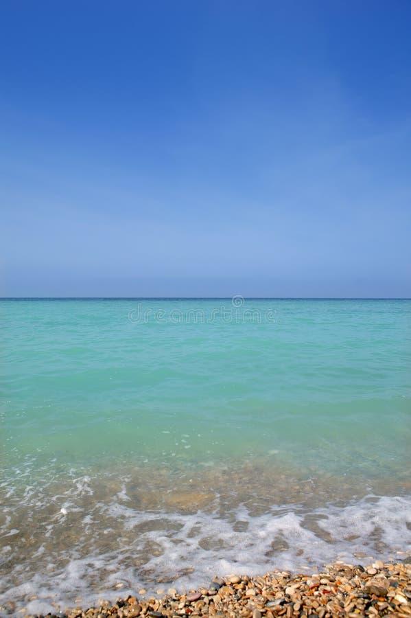 Free Caribbean Vertical Sea Horizon Turquioise Water Royalty Free Stock Photo - 15709145