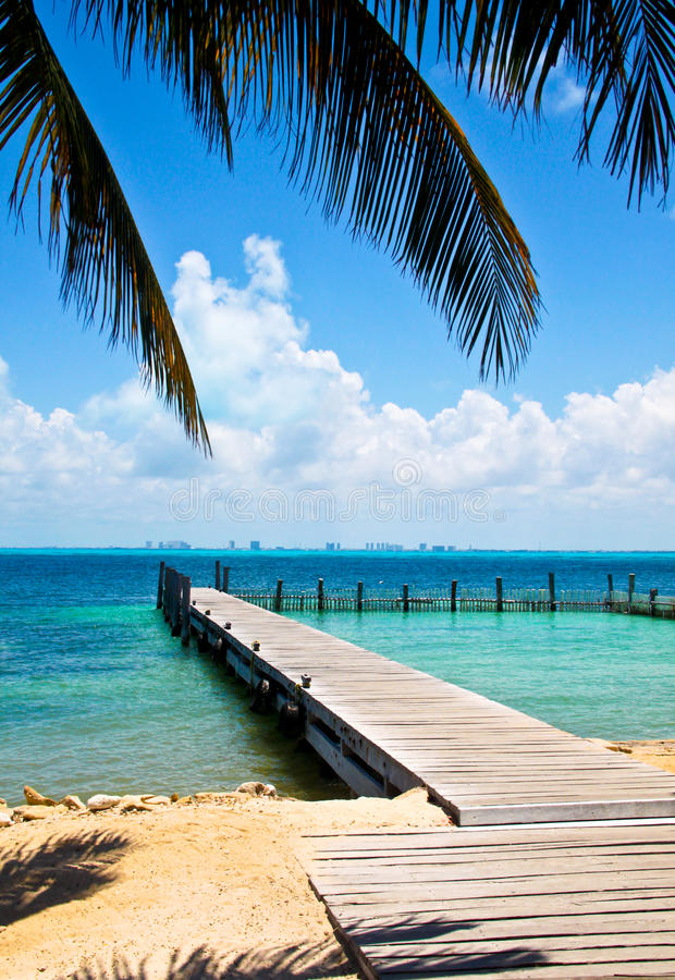 Caribbean View royalty free stock photography