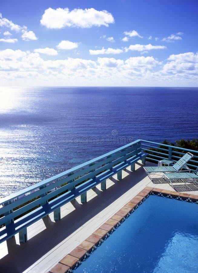 Caribbean View stock photo
