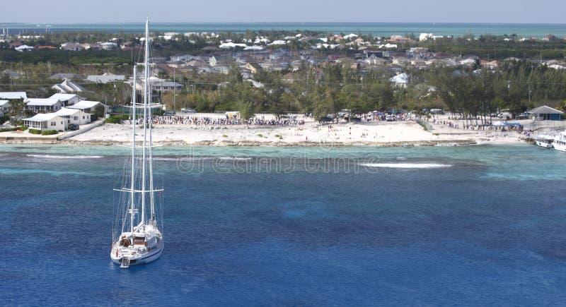 Caribbean vista royalty free stock photo