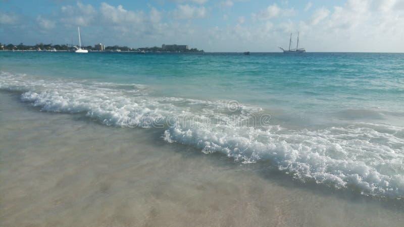 caribbian θάλασσα στοκ εικόνες με δικαίωμα ελεύθερης χρήσης