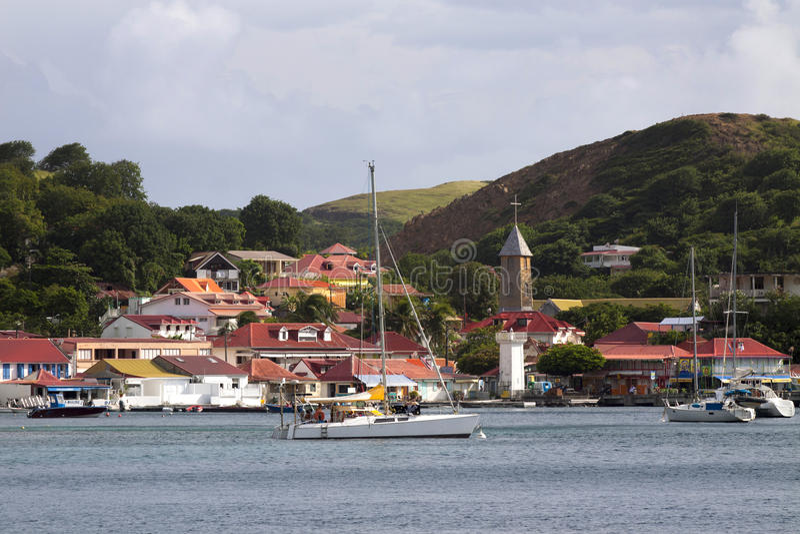 Caribe, Guadaloupe, 免版税库存照片