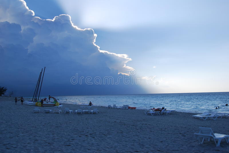 Download Caribean storm stock image. Image of boats, peace, holiday - 16931319