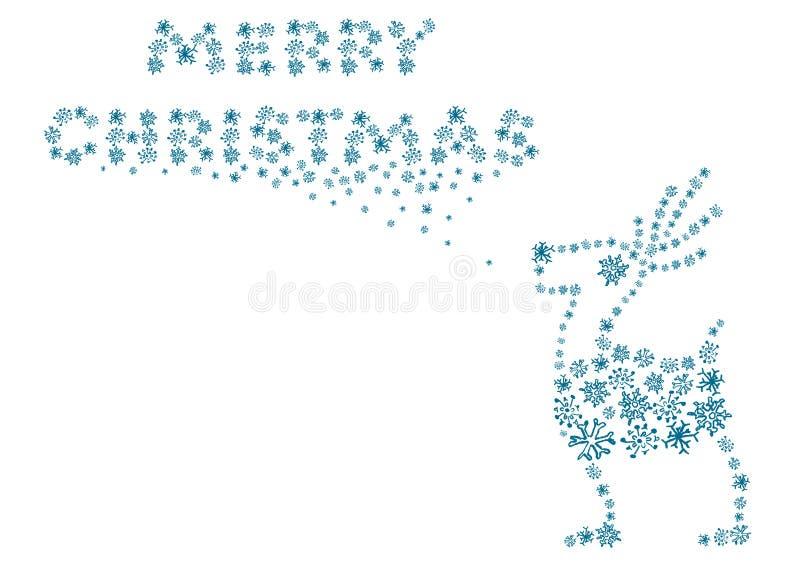 Download Caribou stock illustration. Image of december, design - 11800693