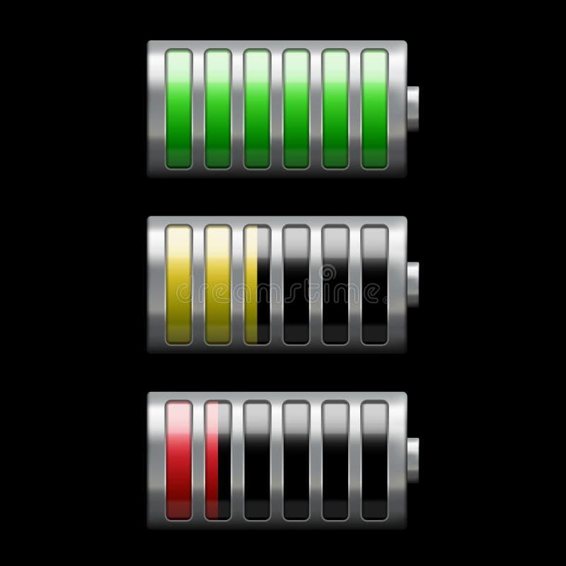Carica della batteria illustrazione vettoriale