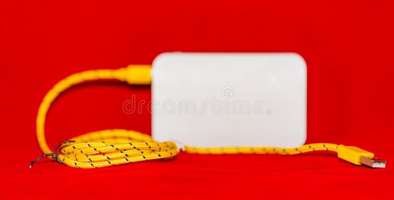 Caricabatteria portatile fotografia stock libera da diritti