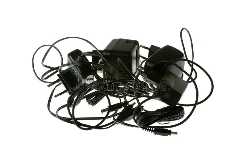 Caricabatterie fotografie stock