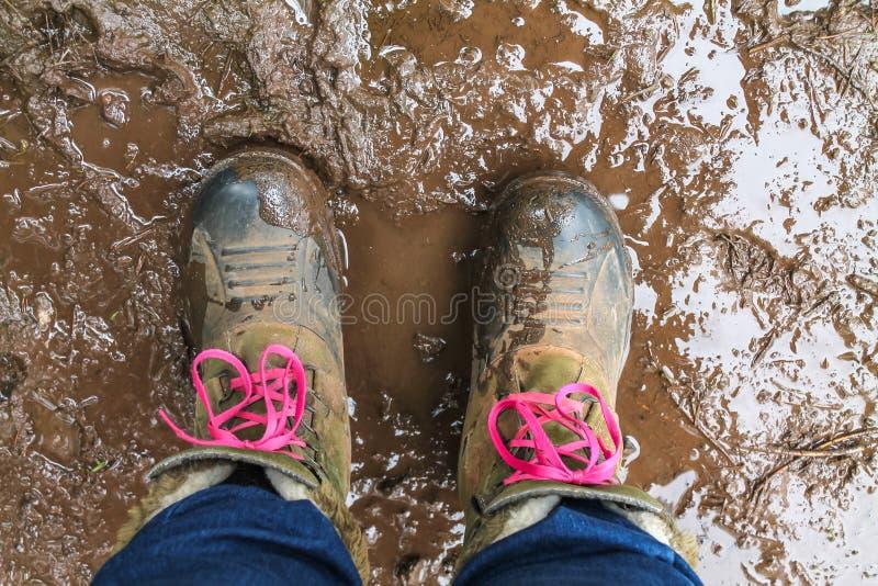 Caricamenti del sistema fangosi fotografie stock