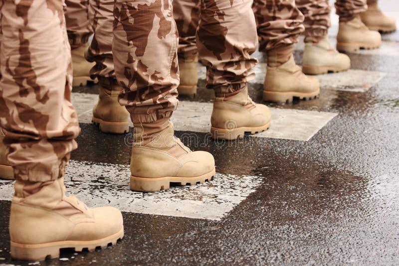 Caricamenti del sistema militari fotografia stock libera da diritti