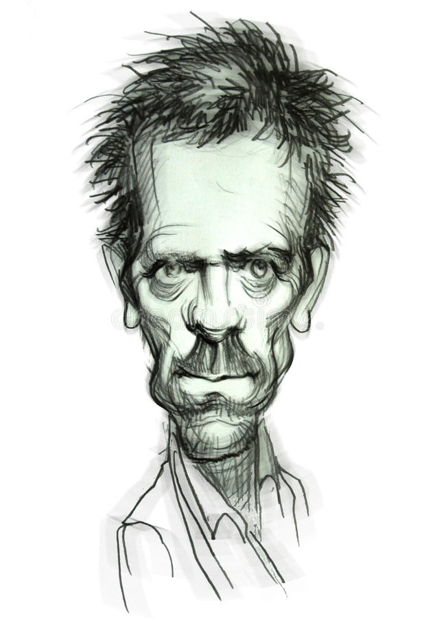 Caricature de Dr. House