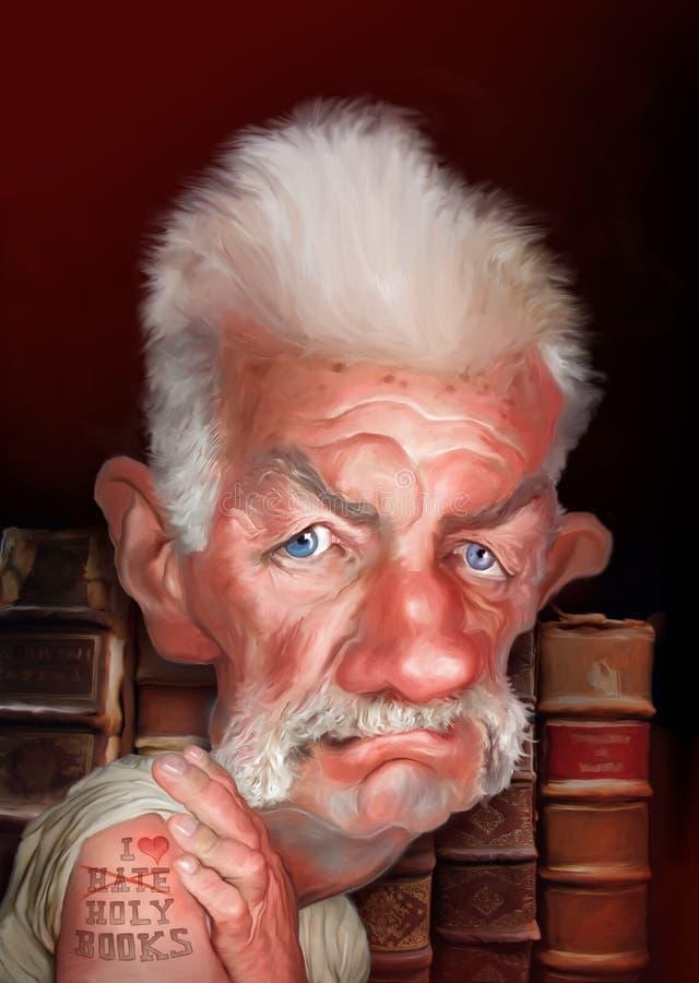 Caricature de Terry Jones
