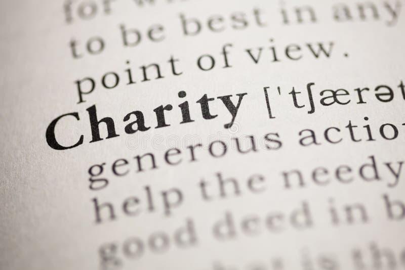 Caridad fotografía de archivo libre de regalías