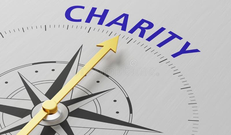 caridad stock de ilustración