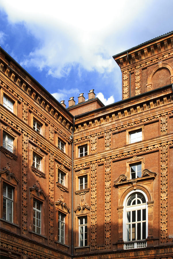 carignano pałac s fotografia royalty free