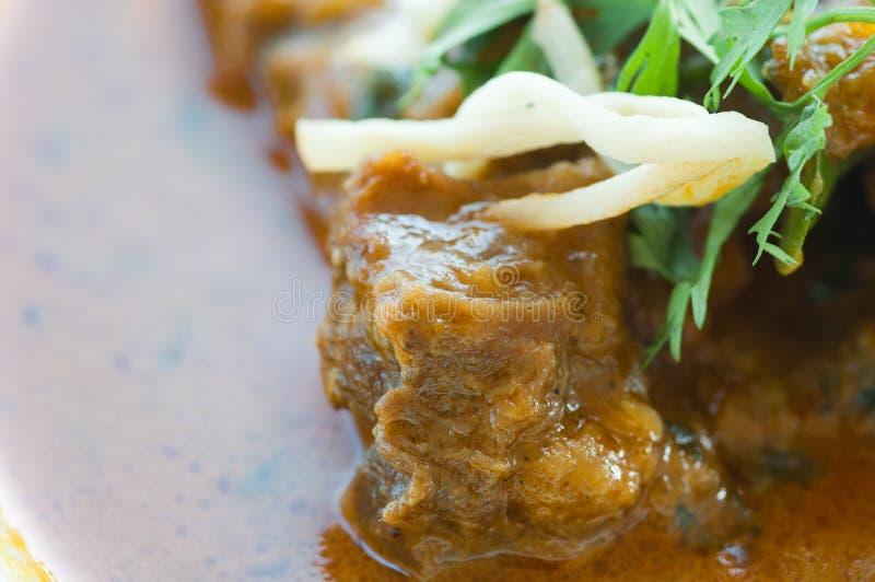 Caril do indiano da carne foto de stock royalty free
