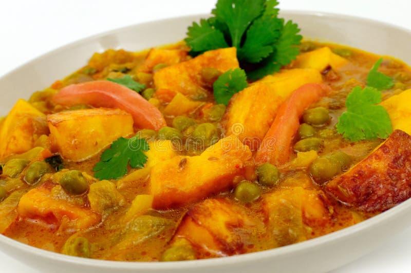 Download Caril do vegetariano imagem de stock. Imagem de nutrition - 12800131