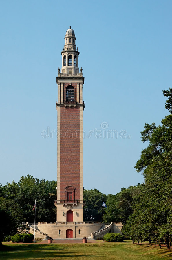 The Carillon. Byrd Park,Richmond, Virginia stock photo