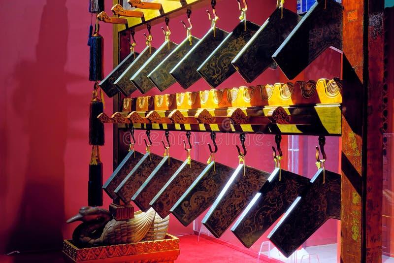 Carillon cinesi antichi immagini stock libere da diritti