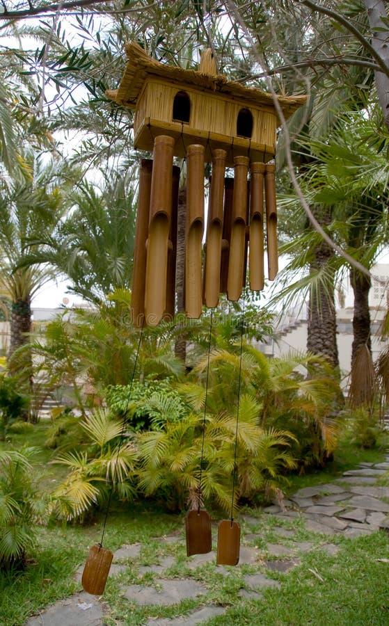 carillon de vent en bambou image stock image du japan 5270697. Black Bedroom Furniture Sets. Home Design Ideas