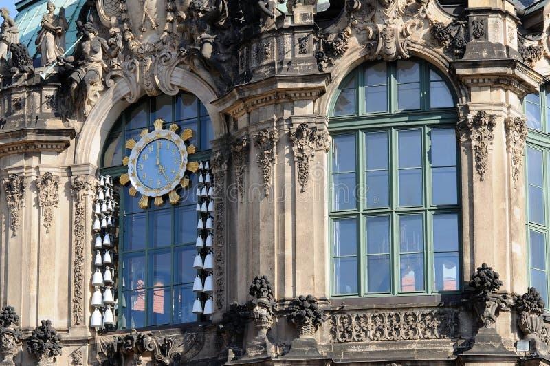 Carillon della Cina a zwinger, Dresda immagine stock