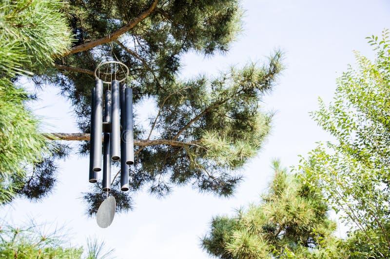 Carillon di vento fotografie stock