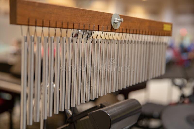 Carillon di vento di Antivari, profondità di campo bassa fotografia stock libera da diritti