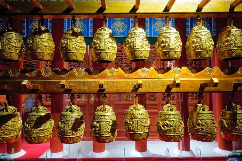 Carillones antiguos de los lomos fotos de archivo