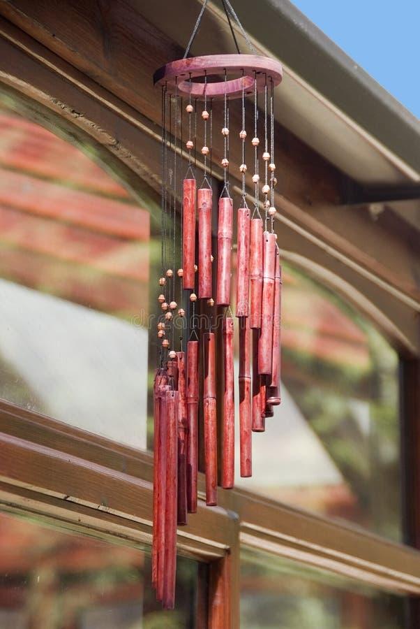 Carillones de viento foto de archivo