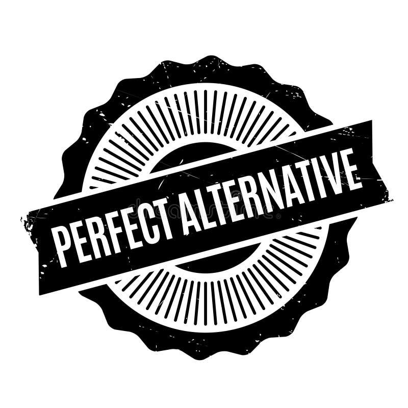 Carimbo de borracha alternativo perfeito imagens de stock