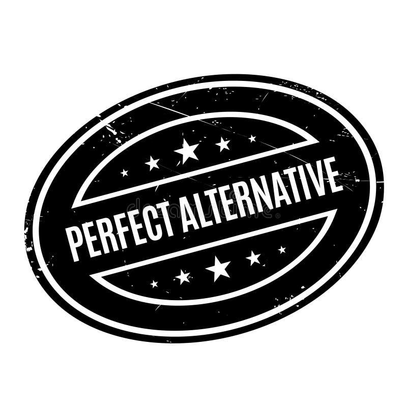 Carimbo de borracha alternativo perfeito fotos de stock