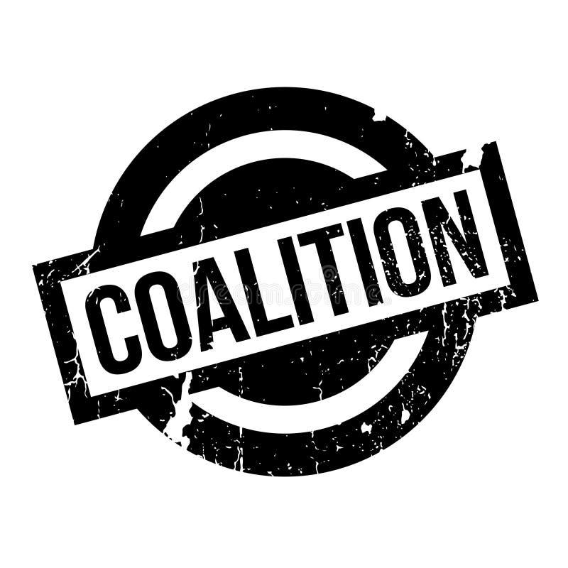 Carimbo de borracha da aliança ilustração do vetor
