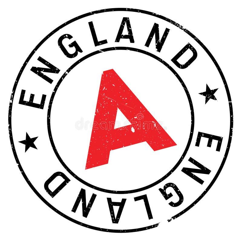Carimbo de borracha de Inglaterra imagens de stock