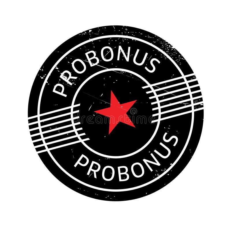 Carimbo de borracha de Probonus fotos de stock royalty free