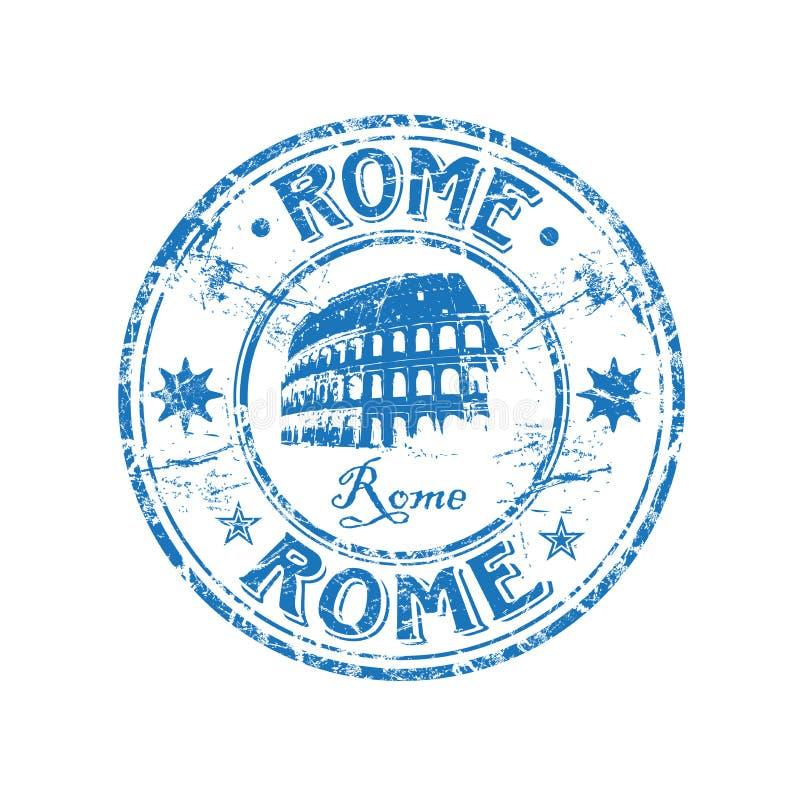 Carimbo de borracha de Roma