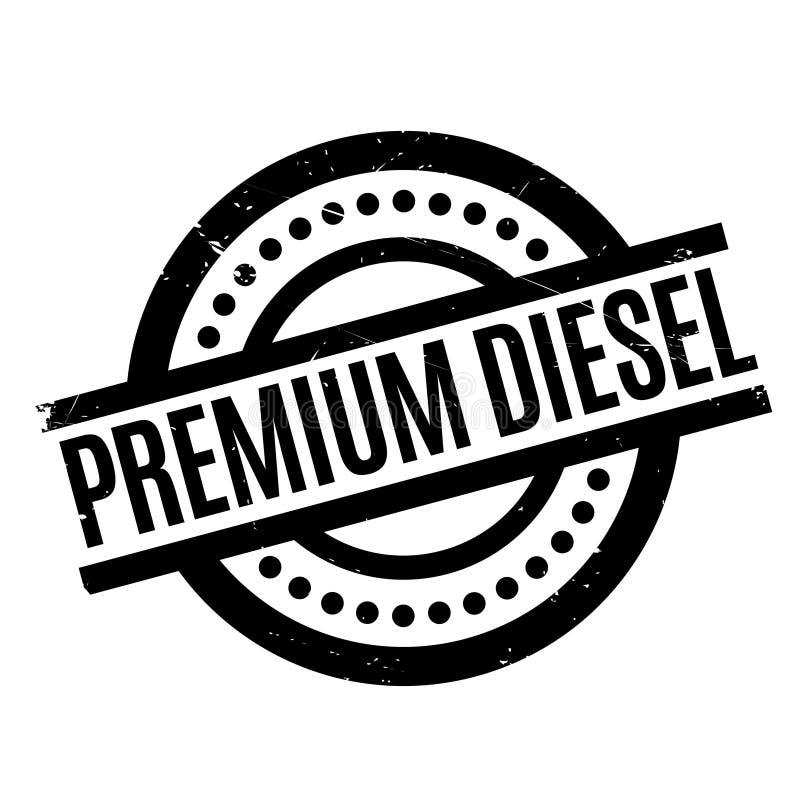 Carimbo de borracha diesel superior ilustração stock